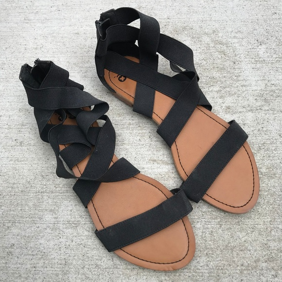 SO Shoes | So Kohls Black Strappy